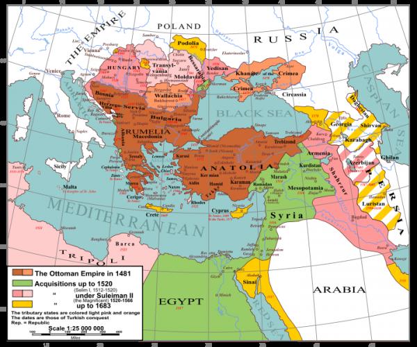 map of ottoman empire 1800 2