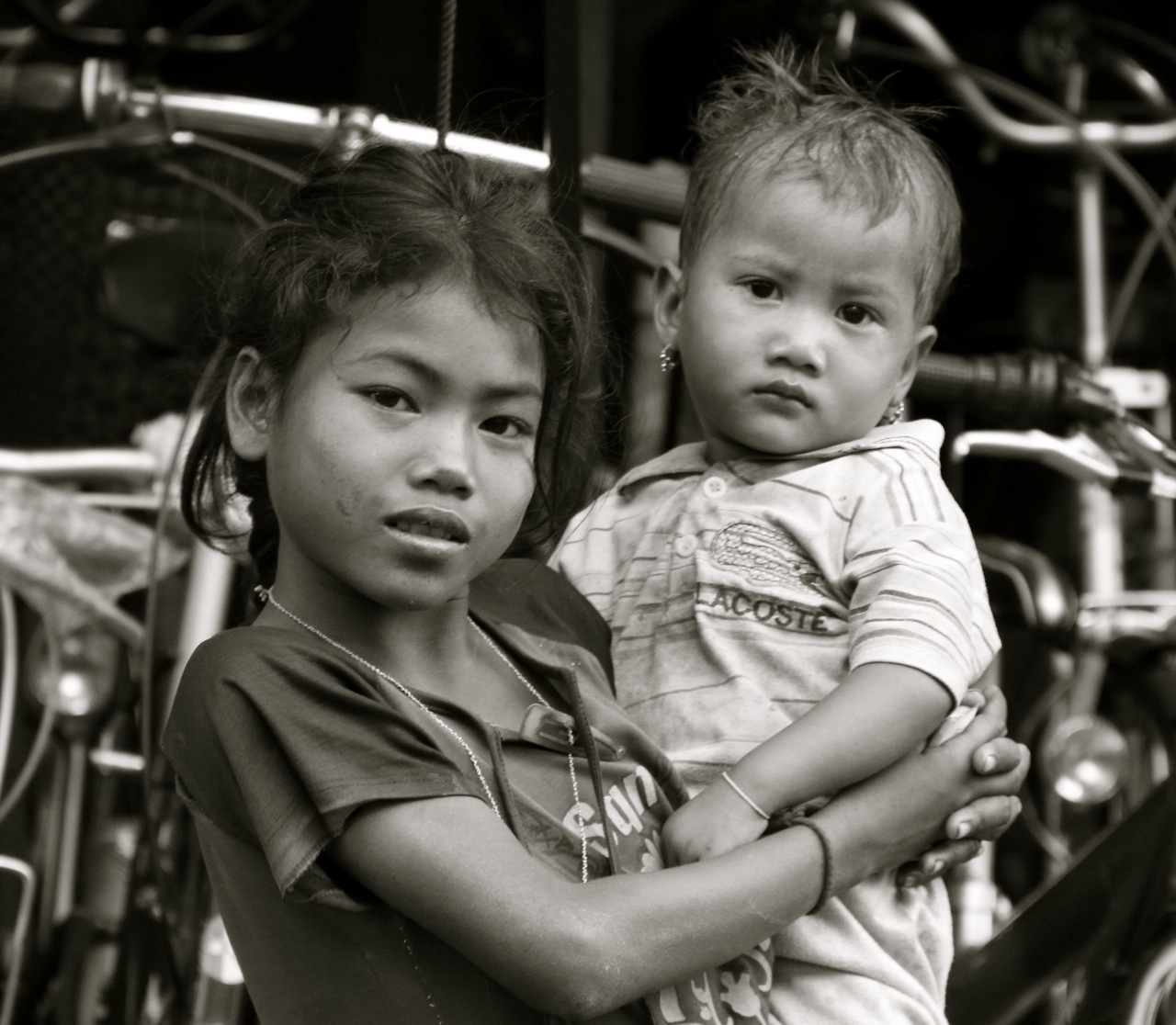 Street children in Phnom Penh